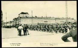 CPA. GUERRE 1914.  L´entrée Des Troupes Allemandes à AMIENS. - Amiens