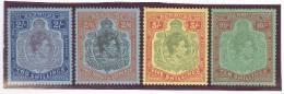 Bermuda 1938 Mi# 111,112,113,114 * Falz - Bermudes