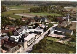 Lignières, Groupe Scolaire Et La Mairie - Vue Aérienne - France