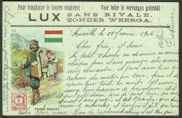 """""""Facteur Hongrois"""",  A Postman Of The World (number 22)  """"Hungary"""",  Postally Used  1906. - Postal Services"""