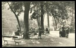 CPA. Amiens. Petit Jardin De Chemin De Fer. - Amiens