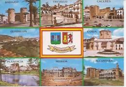 ESTREMADURA     BADAJOZ  TRUJILLO  CACERES  GUADALUPE  CORIA  PLASZNCIA  MERIDA  ALCANTARA - Badajoz