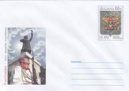 MOLDOVA  ;  MOLDAVIE ;  MOLDAWIEN ;  MOLDAU ; 2006  ; National Army Day - 15 Years.  Pre-paid Envelope - Moldova