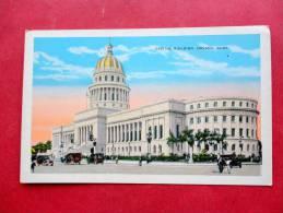 Capitol Building Havana Cuba     ==== ====  Ref 762 - Cuba