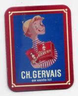 """Magnet Publicitaire Charles Gervais  --  """"CH. GERVAIS """"  En Vente  Ici - Publicitaires"""