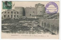 13 - Marseille      Ile Du Château D'If     -     Le Donjon Et Les Ruines - Château D'If, Frioul, Islands...