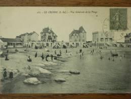 44 - LE CROISIC - Vue Générale De La Plage. (les Villas) - Le Croisic