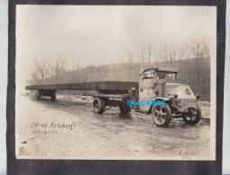 Photo Ancienne Originale - PITTSBURGH - Camion Des Etablissements BENKART - 1930 - Ohio River Boulevard - Camion