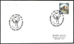ITALIA CORGENO (VA) 1989 - CAMPIONATO DEL MONDO PENTATHLON MODERNO - CARD - Timbres