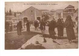 C P A--ASIE--LIBAN--BEYROUTH--le Marché Et La Fontaine--voir 2 Scans - Liban