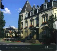 Luxembourg Coffret Officiel BU 2012 1 Cent à 2 Euro Avec Les Commémoratives 10 Ans De L´Euro Et Guillaume IV - Luxembourg