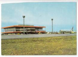 TRANSPORT AERODROMES BRATISLAVA IVANKA AIRPORT CZECHOSLOVAKIA BIG POSTCARD - Aerodrome