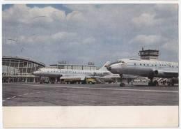 TRANSPORT AERODROMES KIEV SSSR BIG POSTCARD 1970. - Aerodrome