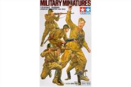 - TAMIYA - Figurines Assault Infantry  - Russian ( 1941-1942) - 1/35°- Réf 35311 - Figurines