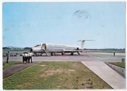 TRANSPORT AERODROMES MARIBOR SLOVENIA YUGOSLAVIA BIG POSTCARD 1982. - Aerodrome