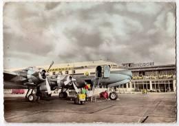 TRANSPORT AERODROMES DUSSELDORF GERMANY FOLDED CORNER BIG POSTCARD - Aerodrome