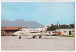 TRANSPORT AERODROMES BRNIK LJUBLJANA SLOVENIA YUGOSLAVIA BIG POSTCARD 1975. - Aerodrome