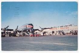 TRANSPORT AERODROMES MALTON TORONTO CANADA OLD POSTCARD 1957. - Aerodrome