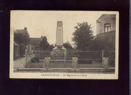 CP (59) Lallaing - Le Monument Aux Morts - Otros Municipios