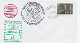 Georg- V- Neumayer Station  Antarktis 1985  # 390 # - Polar Philately