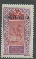 Haute Volta  N ° 29 X  30 C. Violet Et Rouge-brun  Trace De  Charnière Sinon  TB - Obervolta (1920-1932)
