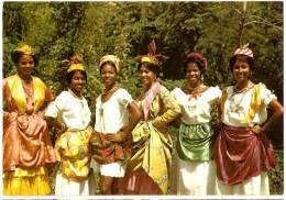 MARTINIQUE - COIFFURES ANTILLAISES (GROUPE FOLkLORIQUE MARTINIQUAIS) - Martinique
