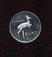 Afrique Du Sud -  1 Rand  - 1980 - Argent -   Légère Corrosion Au Revers Sinon UNC - South Africa
