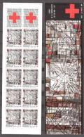 CARNET CROIX ROUGE  COMPLET  ANNEE  1986  SUPERBE ** Non Pliè - Red Cross