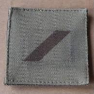 Galon De Grade De 1ère Classe Basse Visibilité Pour Treillis - Armée De Terre