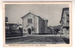 RK288) CHIAVARI - NUOVA CHIESA DEI CAPPUCCINI - CORSO MONTEVIDEO - FORMATO PICCOLO - Genova (Genoa)