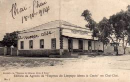 "EDIFICIO DA AGENCIA DA ""EMPREZA DO LIMPOPO  ABREU & COUTO NO CHAI-CHAI   -N.1 - Mozambique"