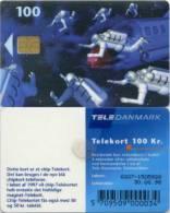 Telefonkarte Dänemark -  Weltraum,space - Astronauten - Espacio