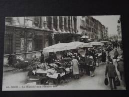 NICE (Alpes-Maritimes) - Le Marché Aux Fleurs - Belle Animation - Correspondance - Markets, Festivals