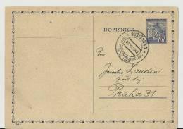 ==TCHECHOSLOWAKEI GS 1945 - Ganzsachen