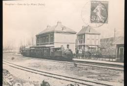 Train ---  La Gare De La Mure Vers 1900 --- Coll Boyer --- Repro - Eisenbahnen