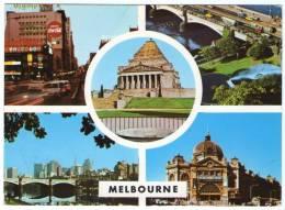 AUSTRALIA-MELBOURNE VIEWS / THEMATIC STAMP-BIRD - Melbourne