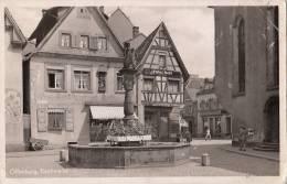 GERMANY - Offenburg 1956 - Fischmarkt - Offenburg