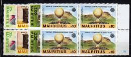 Mauritius   N° 573 / 576 ** Blocs De 4 - Maurice (1968-...)