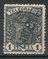 España Telégrafos U 036 (o) Escudo. 1901. Barcelona - Telegrafi