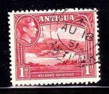 Antigua Scott    85 Used VF Nelson Dockyard---------* - Antigua & Barbuda (...-1981)
