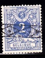 Belgium Scott    29 Used Fine Coat Of Arms - 1866-1867 Coat Of Arms