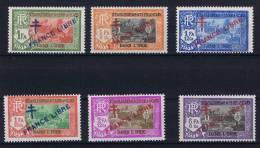Inde: Yv. 161-166, MNH/**,  Maury CV € 42 - India (1892-1954)