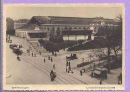 SUISSE - GENEVE De Jadis - La Gare De Cornavin En 1890 - GE Ginevra