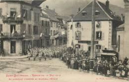 88 SAINT DIE REVUE DU 28 MAI 1919 EN ATTENDANT L'ARRIVEE DU MARECHAL PETAIN - Saint Die