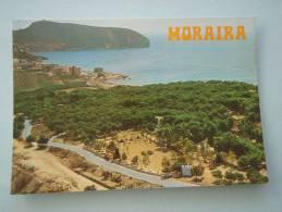 25272 POSTCARD: SPAIN: COMUNIDAD VALENCIANA: ALICANTE: Moraira. (Postmark 1988). - Alicante