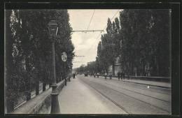 CPA Joinville-le-Pont, Avenue Gallieni - Joinville Le Pont