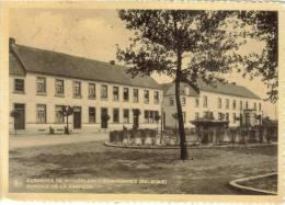 CPSM ECAUSSINNES (Belgique-Hainaut) - Carrieres De Scouffleny : Bureaux - Ecaussinnes