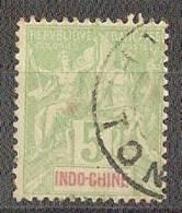 Indochine  N°17(o) - Gebraucht