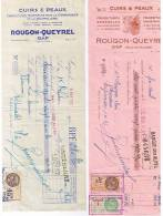 2 Facture Rougon Queyrel Gap Hautes Alpes - 1900 – 1949