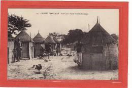 AFRIQUE / GUINEE-BISSAU / GUINEE-FRANCAISE / Les Cases D´une Famille Coniagui / Animation - Frans Guinee